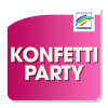 Konfetti-Party